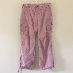 (Express) blush cargo pants